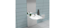 Ropox 40-14772 StandardLine washbasin lift complete with Support basin