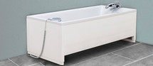 Ropox 40-14158 height adjustable Aqualine bath - 180x80cm
