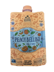 Non-GMO Peach Bellini Wine Freezer