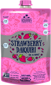 Non-GMO Strawberry Daiquiri in a Bag