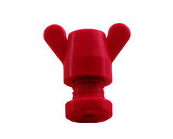 Turnbuckle 3mm PVC Red