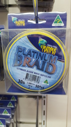 PLATYPUS PLATINUM Braid 500yd 30lb
