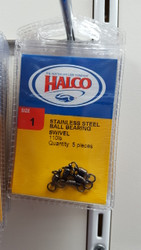 HALCO Stainless Steel Ball Bearing Swivel