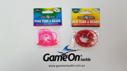 NEPTUNE TACKLE Tube and Beads Pk