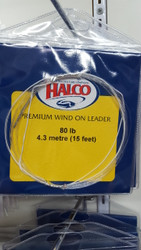 4pk of 300lb Halco Wind on Leader (7.3m)