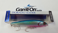 2pk of DAIWA 140mm 48gm Saltiga Dorado Slider 14S Laser Blue Pink