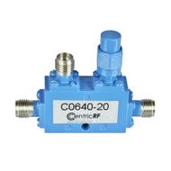 C0640-20 2.92/Female 6-40 Ghz 20 dB Coupler Centric RF