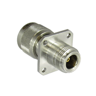 C5663 N/Male to N/Female Flange Adapter Centric RF