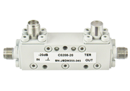 C0208-6 SMA/Female's 2-8 Ghz 6 dB Coupler Centric RF