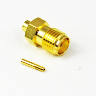 523-132103 SMA F 086 SOLDER CONNECTOR BRASS Centric RF