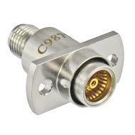 C9877 BMA Jack to SMA Female Flange Adapter 18Ghz Centric RF