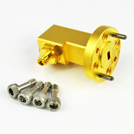 CWR1210 WR12 to 1.0mm WG to Coax Adapter Centric RF