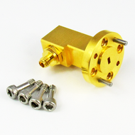 CWR1010 WR10 to 1.0mm Waveguide to Coax Adapter Centric RF