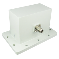 CWR510N WR510 to N Waveguide to Coax Adapter 1.45-2.2Ghz  VSWR 1.25 Centric RF