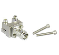 1492-02A-5 2.4/Female End Launch Connector for .01 Pin and .0635 Dielectric Centric RF