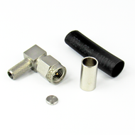 CX2021 SMA/Male Right Angle Connector for LMR240 Centric RF