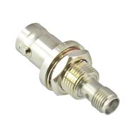 C2235 SMA to BNC Bulkhead Adapter F/F 4Ghz Centric RF