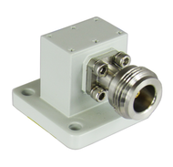 CWR62NB N/Female to WR62 Waveguide to Coax Adapter Centric RF