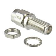 C3163 SMA/Male to SMA/Female Bulkhead 18 Ghz Adapter Centric RF