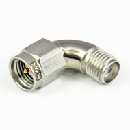 C3233 SMA M/F Swept Right Angle Adapter Centric RF