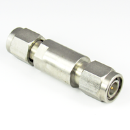 C2587 TNC Adapter 18Ghz Male to Male VSWR 1.15 Stainless steel Centric RF