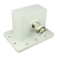 CWR340D WR340 to 7/16 Waveguide to Coax Adapter 2.2-3.3Ghz  VSWR 1.25 Centric RF