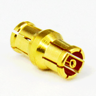 C4301 MiniSMP/Female to MiniSMP/Female Bullet Adapter Centric RF