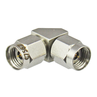 C7567 2.4/Male to 2.4/Male Right Angle 90 degree Adapter Centric RF
