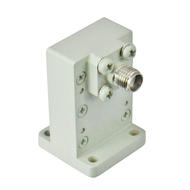 CWR42SB WR42 to SMA Waveguide to Coax Adapter 18-26.5Ghz VSWR 1.3 Centric RF