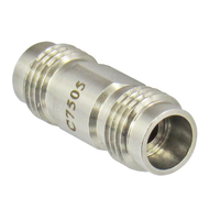 C7505 2.4mm Female to 2.4mm Female Adapter 50GHz Centric RF
