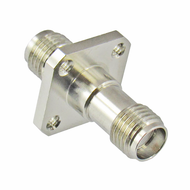 C3386 SMA Adapter F/F 0.5in Flange 27ghz VSWR 1.15 Centric RF