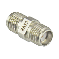 C3368 SMA Female to Female Adapter 27ghz VSWR 1.15 Centric RF