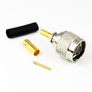 CX5622 N Male Crimp Connector RG58 Centric RF