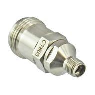 C7803 3.5mm Female to N Female Adapter 18Ghz Centric RF