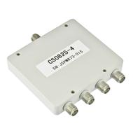 CS0825-4 SMA Power Divider 4-way 0.8-2.5Ghz S Steel Centric RF