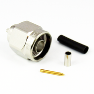 CX3168 N Male Connector for RG316 Cable Brass Centric RF