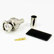CX2407 BNC Male Connector LMR240 Brass Centric RF
