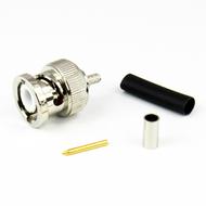 CX3167 BNC Male Connector RG316 LMR100 Brass Centric RF
