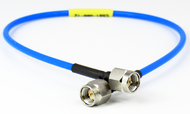 C581-086-18 SMA/Male to SMA/Male .086 18 inch Flexible Cable Centric RF