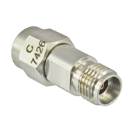 C7426 2.92mm Female SMA Male Adapter VSWR 1.15 27Ghz Centric RF