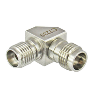 C7239 2.92mm Female to 2.4mm Female Adapter Right Angle Centric RF