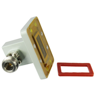 CWR90NG WR90 to N Waveguide to Coax Adapter Centric RF