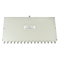 CS0825S-16 SMA Power Divider 16-way 0.8-2.5Ghz VSWR 1.5 S Steel SMA Centric RF