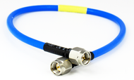 C581-141-06 SMA/Male to SMA/Male .141 6 inch Flexible Cable Centric RF