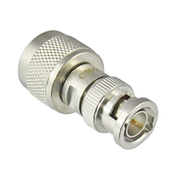C5057 N Male 75 ohm to BNC Male 75 ohm Adapter Centric RF