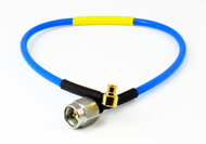 "C574-086-30B Cable SMP /FRA to SMA/M 086 Flexible 18Ghz VSWR 1.35 30"" Centric RF"