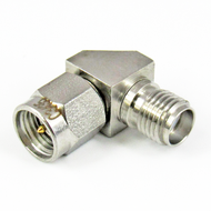 C3435 SMA Right Angle Adapter Male to Female Centric RF