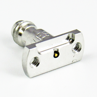 24359-001J 1.0 Female Vertical Launch Connector Centric RF
