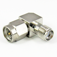C3225B SMA Right Angle Adapter Male to Female Centric RF