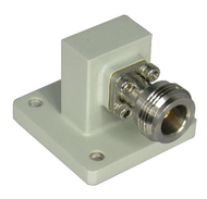 CWR75N WR75 to N Waveguide to Coax Adapter 10-15Ghz  VSWR 1.25